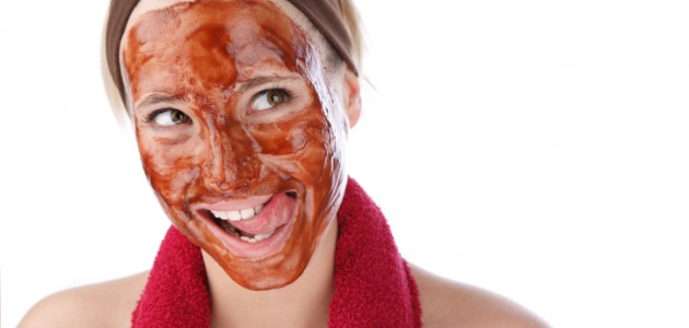dark chocolate facial