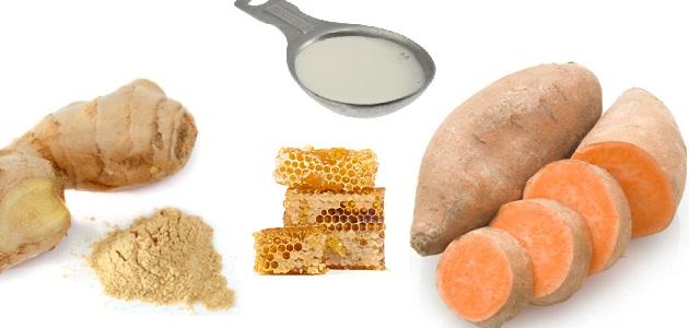 sweet potato face mask
