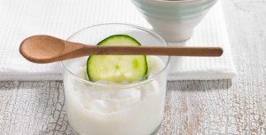 Cucumber Yogurt Face Mask