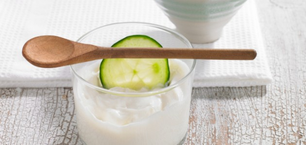 Image result for cucumber and yogurt mask
