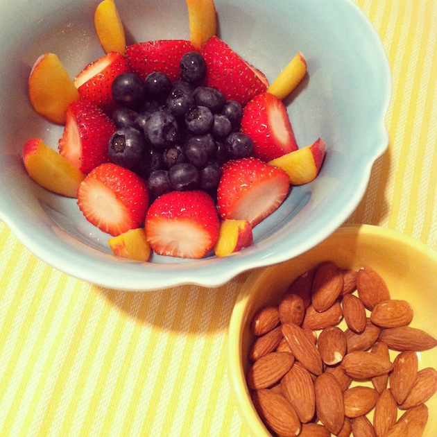 Fruit and Almonds